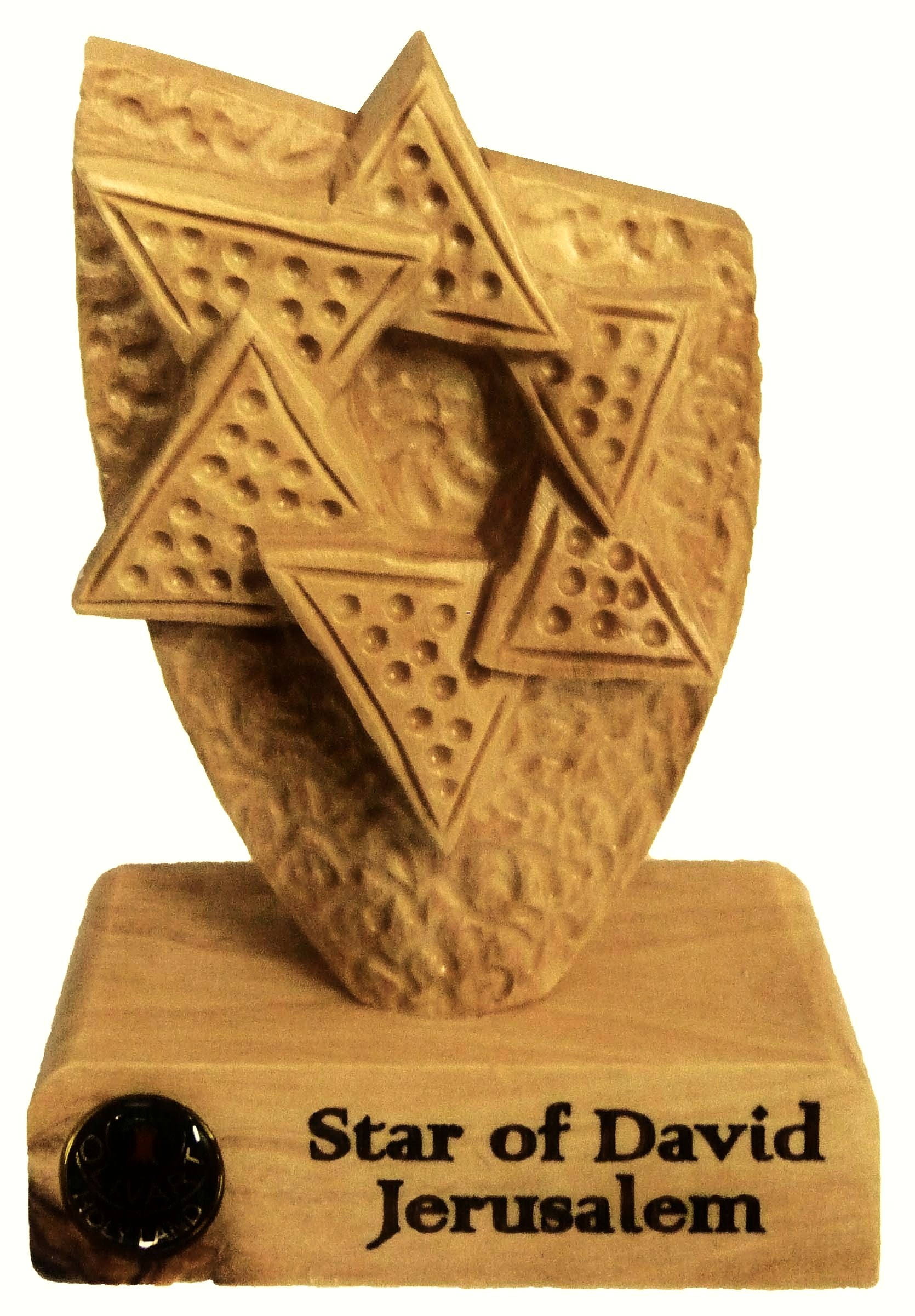 Star of David - table plaque