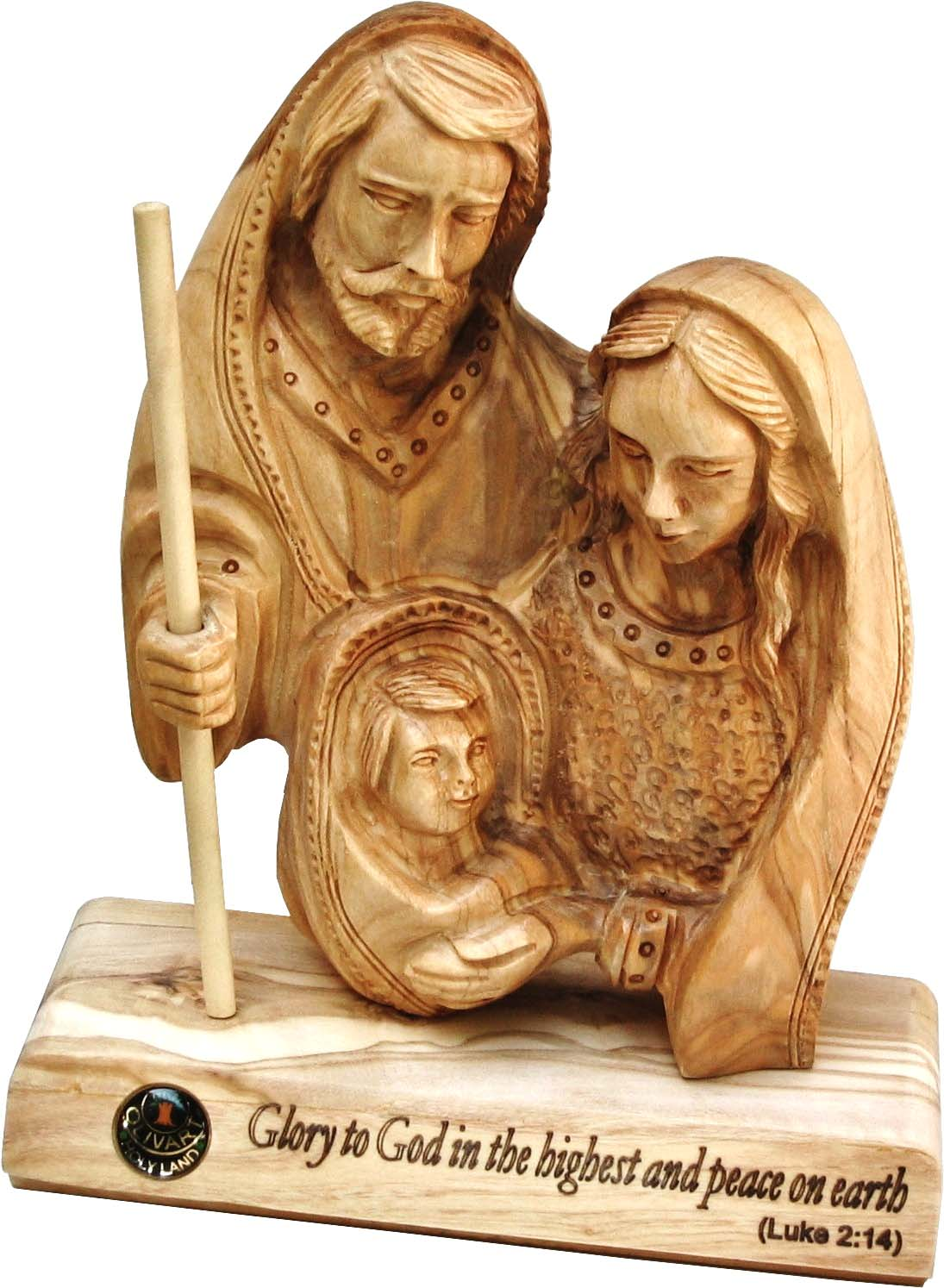 The Holy Family- Table plaque