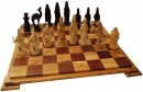 Chess set Crusaders vs. Arabs (Only the chess figures)