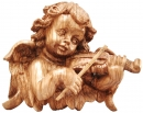 LARGE ANGLE PLAQUE WITH VIOLIN
