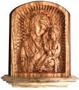 BASS RELIEF ICON OF VERGIN MARY - LARGE