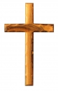 Beveled edge Cross-20cm.