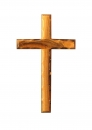 Beveled edge Cross 12cm.