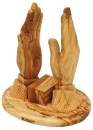 Bible -holder praying hands