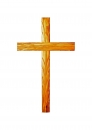 Cross with carved thorns-25cm