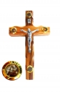 Crucifix with 4 containers 12cm.