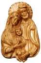 Holy Family wall plaque (Large)