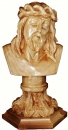 Jesus bust with carved pedestal (Small)