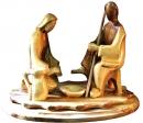 Jesus washing disciples feet - Contemporary art