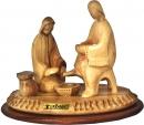 Jesus washing his disciples feet- Contemporary art