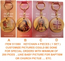 KEYCHAIN ( 1 SET FOR PIECES )