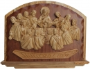 LARGE LAST SUPPER WALL PLAQUE