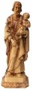 St. Joseph carrying baby Jesus